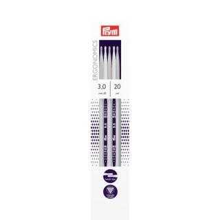 Sokkenbreinaalden ergonomisch 3,0 mm - 20 cm - Prym