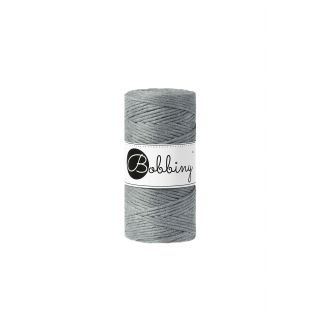 Bobbiny Macrame 3 mm - Steel