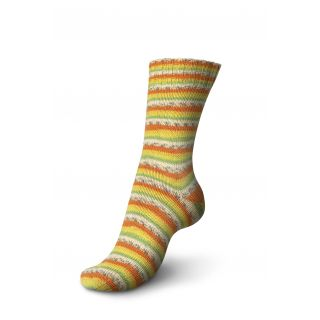 Regia sokkenwol Tutti Frutti katoen - papaya 2417