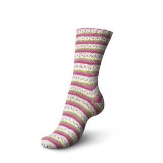 Regia sokkenwol Tutti Frutti katoen - pitaya 2419