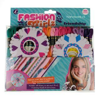 Vriendschapsbandjes DIY pakket - Fashion Girlz