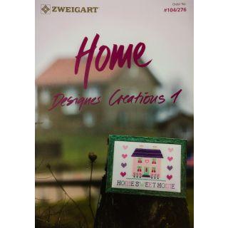 Zweigart borduurboekje Home 276